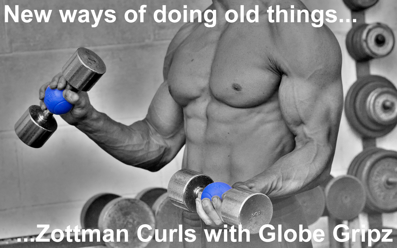 Zottman Bicep Curls with Globe Gripz.