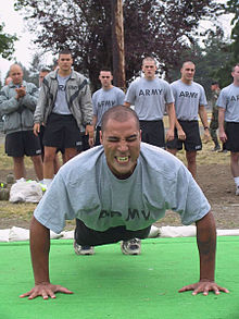 Army Fitness Tests