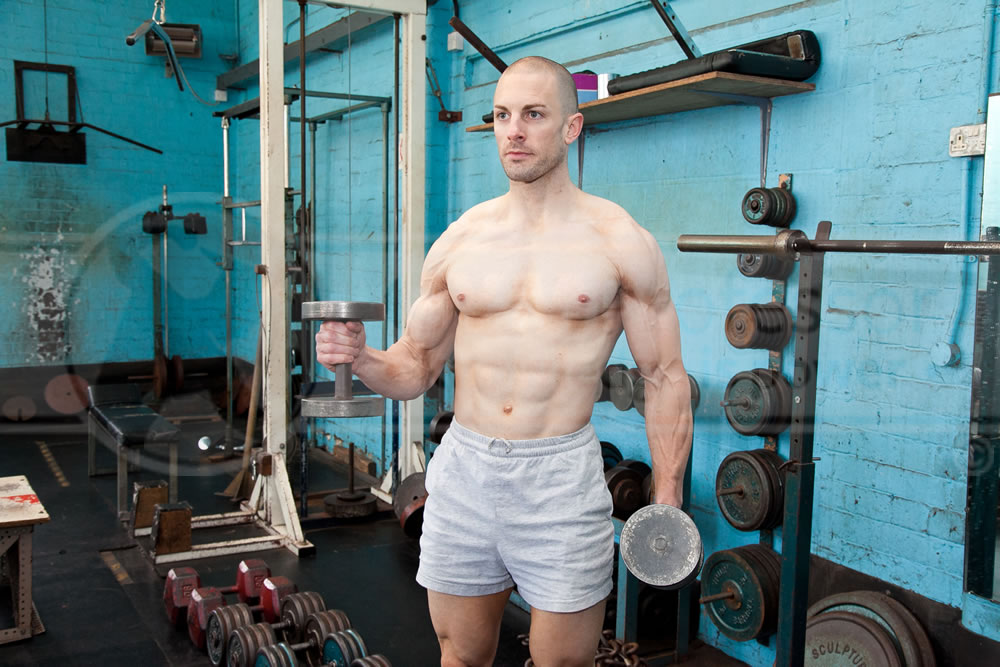 Dumbbell Curls (Alternate)